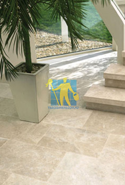 limestone tiles honed santa anna Tranmere cleaning