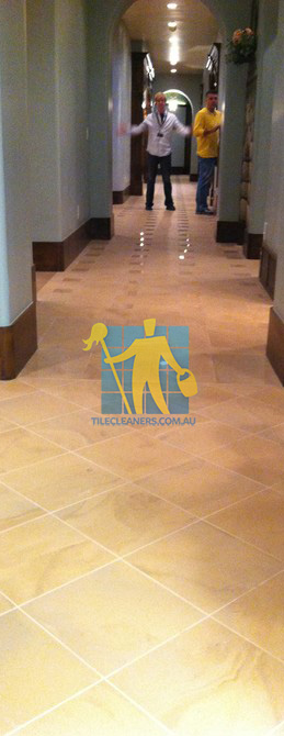 traditional entry with large porcelain tiles were laid in a basketweave pattern Tranmere